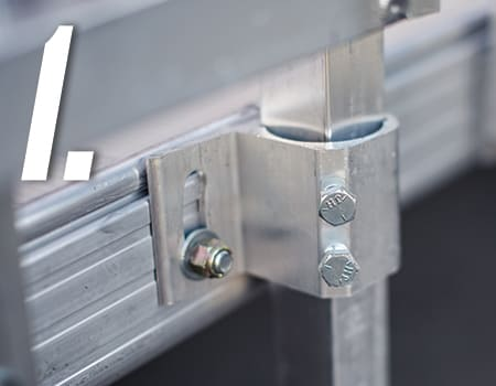 hardware for commercial ez access ramp