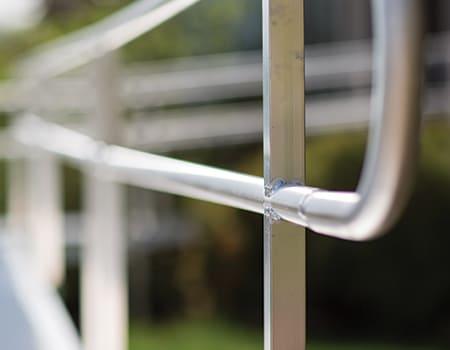 aluminum ramp railing