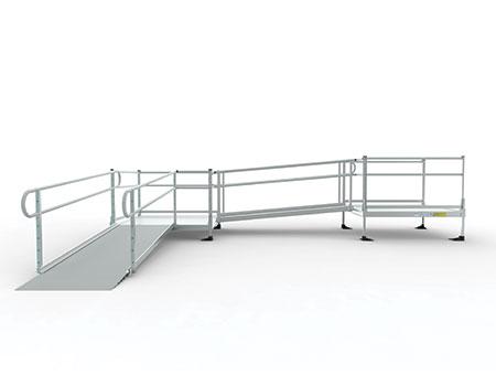 rendering of custom aluminum ramp