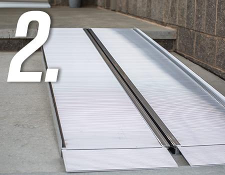 foldable ramp