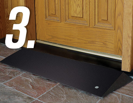 door threshold mat