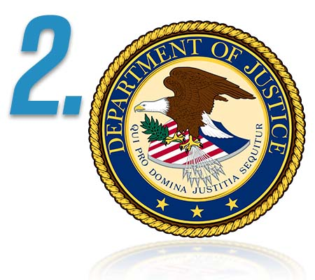 Step 2 - Department of Justice logo