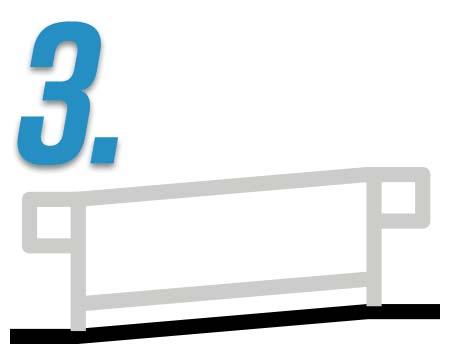 3 - Visual example of ramp handrails