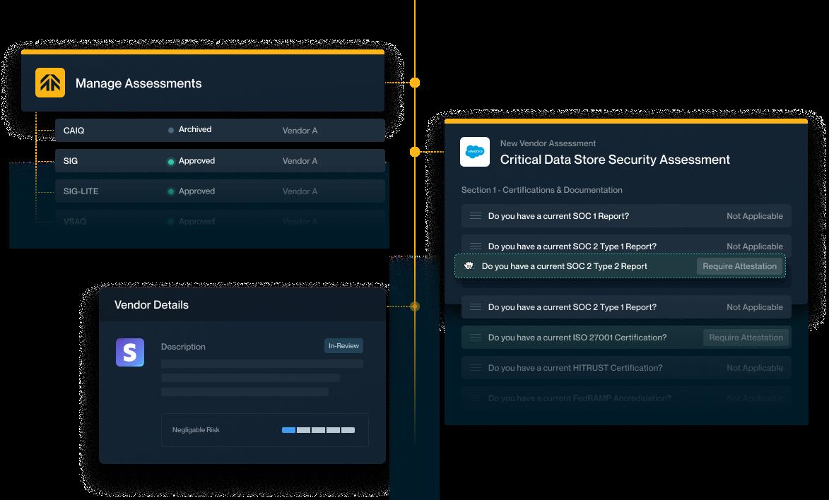 vendor security questionnaire response