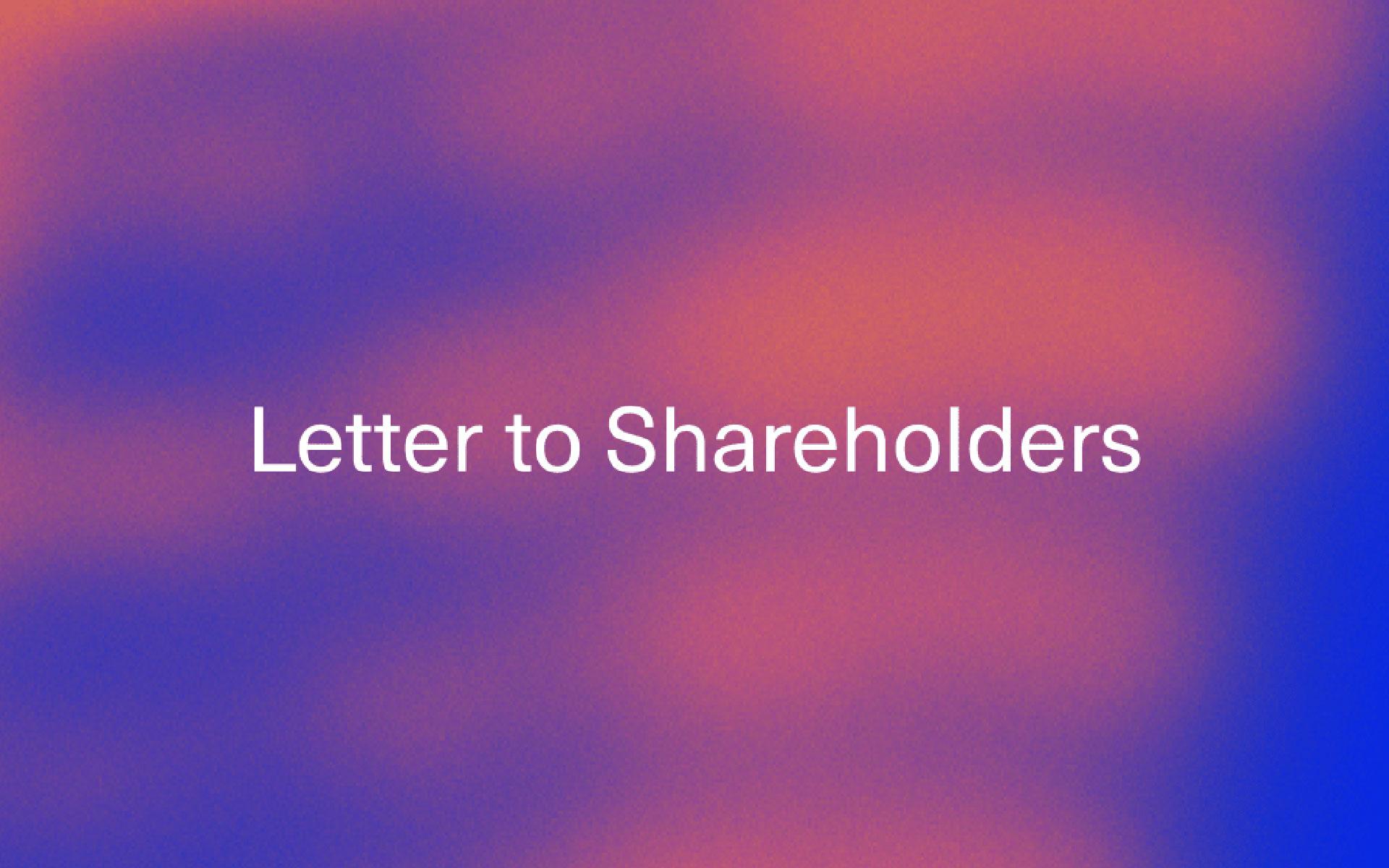 JMDA Q1 2020 Shareholder Letter