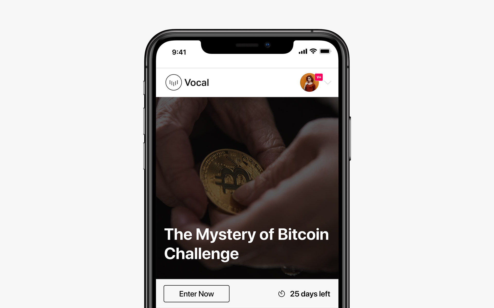 Creatd's Vocal Platform Launches Bitcoin- and Photography-Themed Challenges to Continue to Accelerate Participation in its Creator Communities
