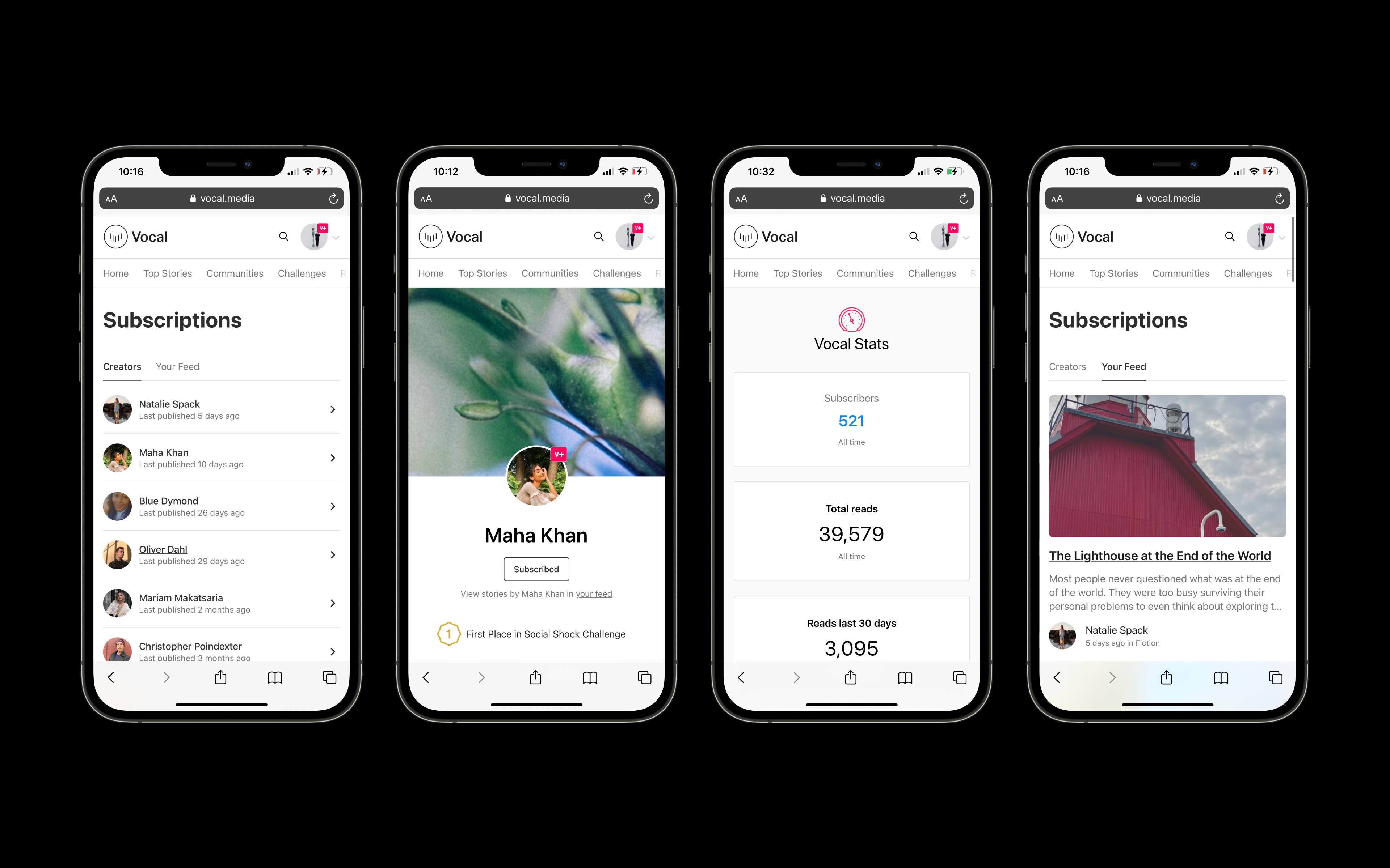 Creatd Unveils Subscribe Feature on Vocal