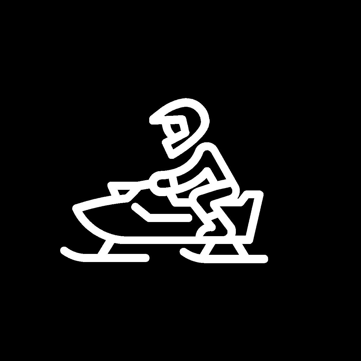 snow mobile icon
