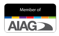 Member of Automotive Industry Action Group (AIAG) with transparent background