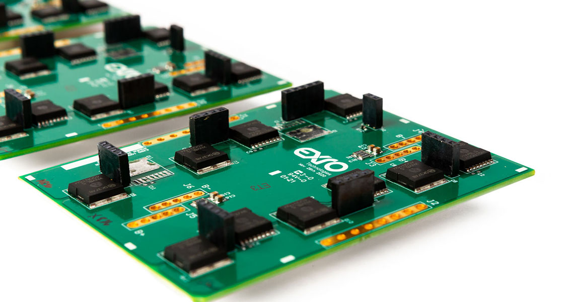 Hardware for Exro's Coil Driver technology.