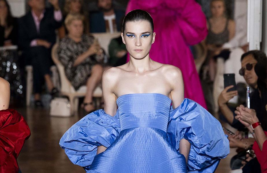 Irina Đuranović na Nedelji visoke mode u Parizu