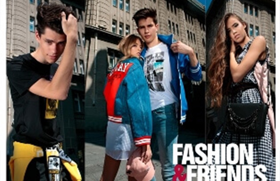 Our models in the Fashion & Friends campaign