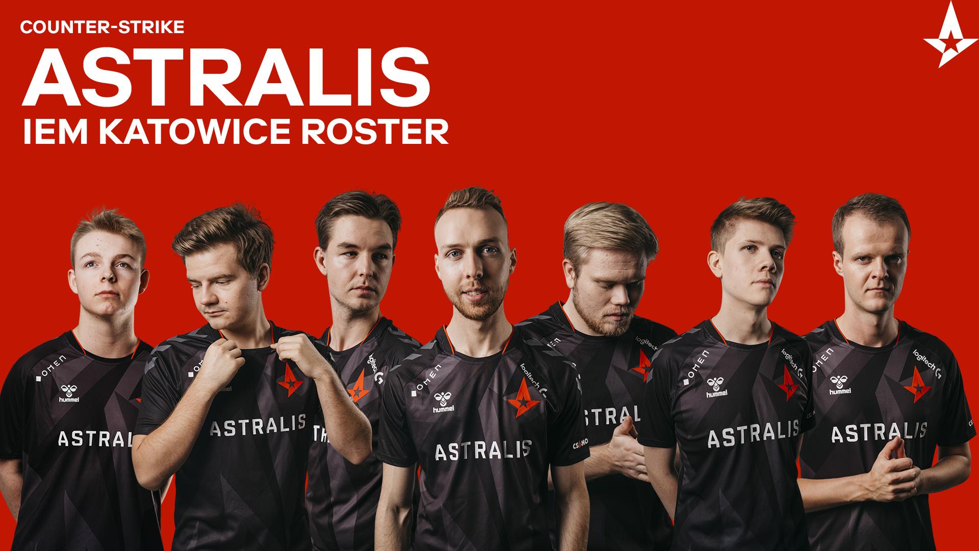 Astralis Talent 'vester' udtaget til IEM Katowice-trup
