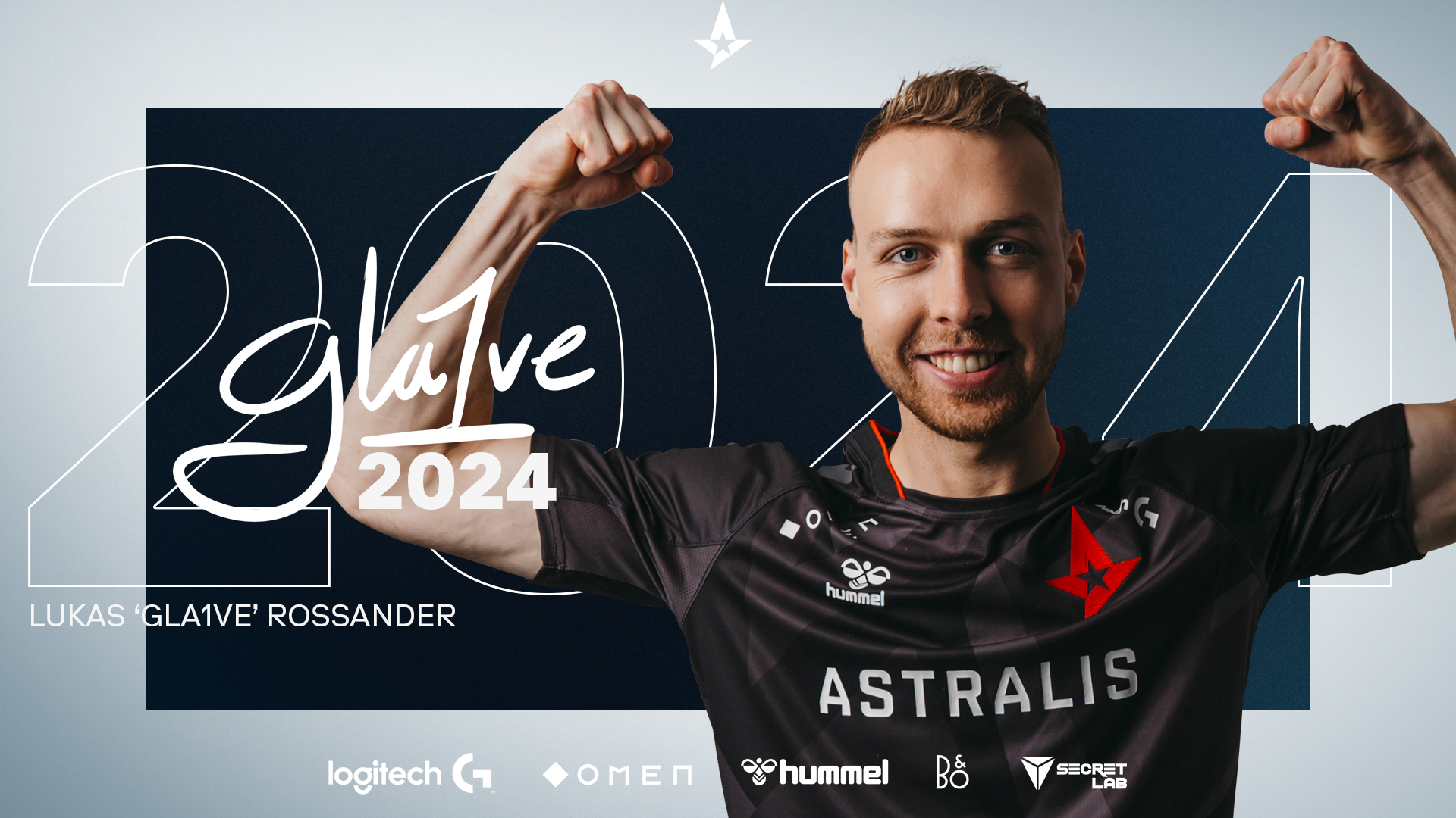Astralis Extends With In-Game Leader gla1ve