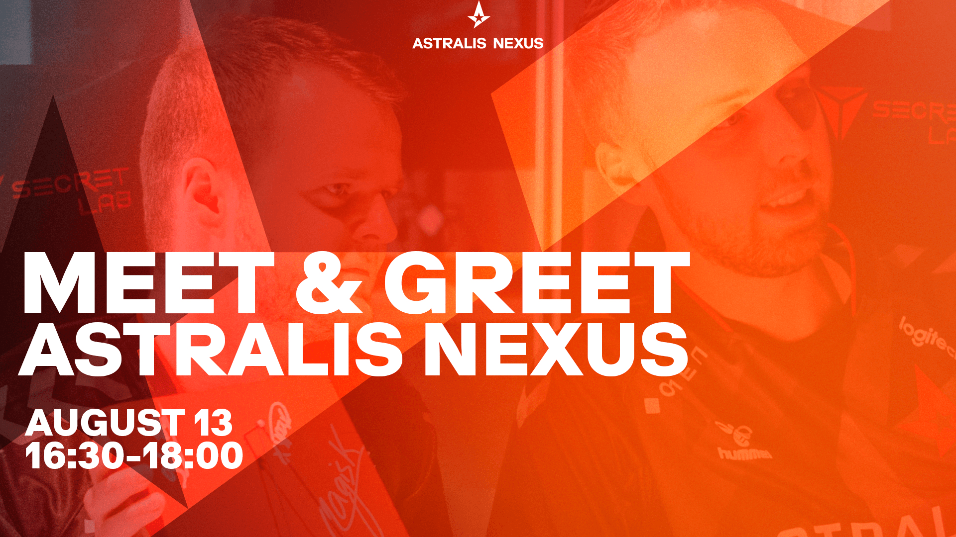 Meet Lucky and the rest of the team at Astralis Nexus