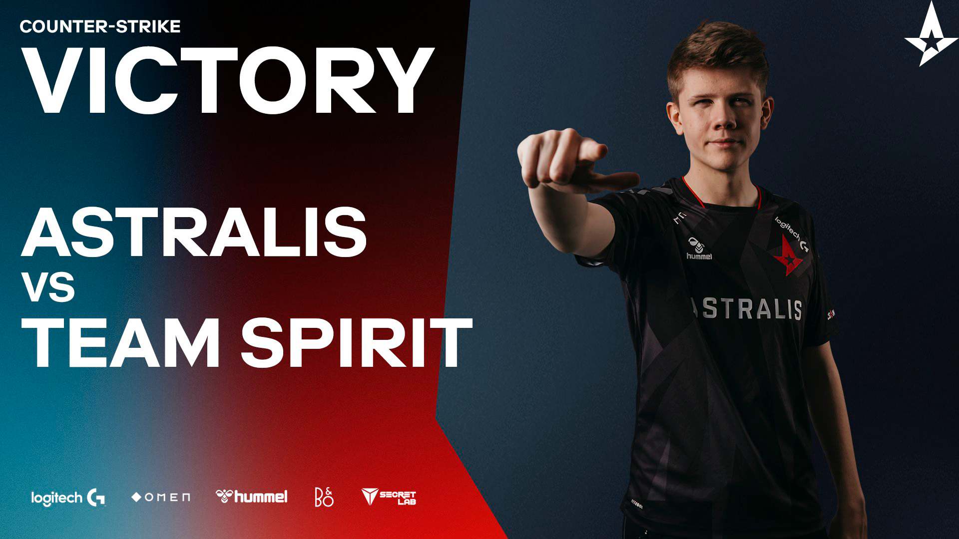 Astralis Wins Debut Match With Lucky 2-1 Against Team Spirit