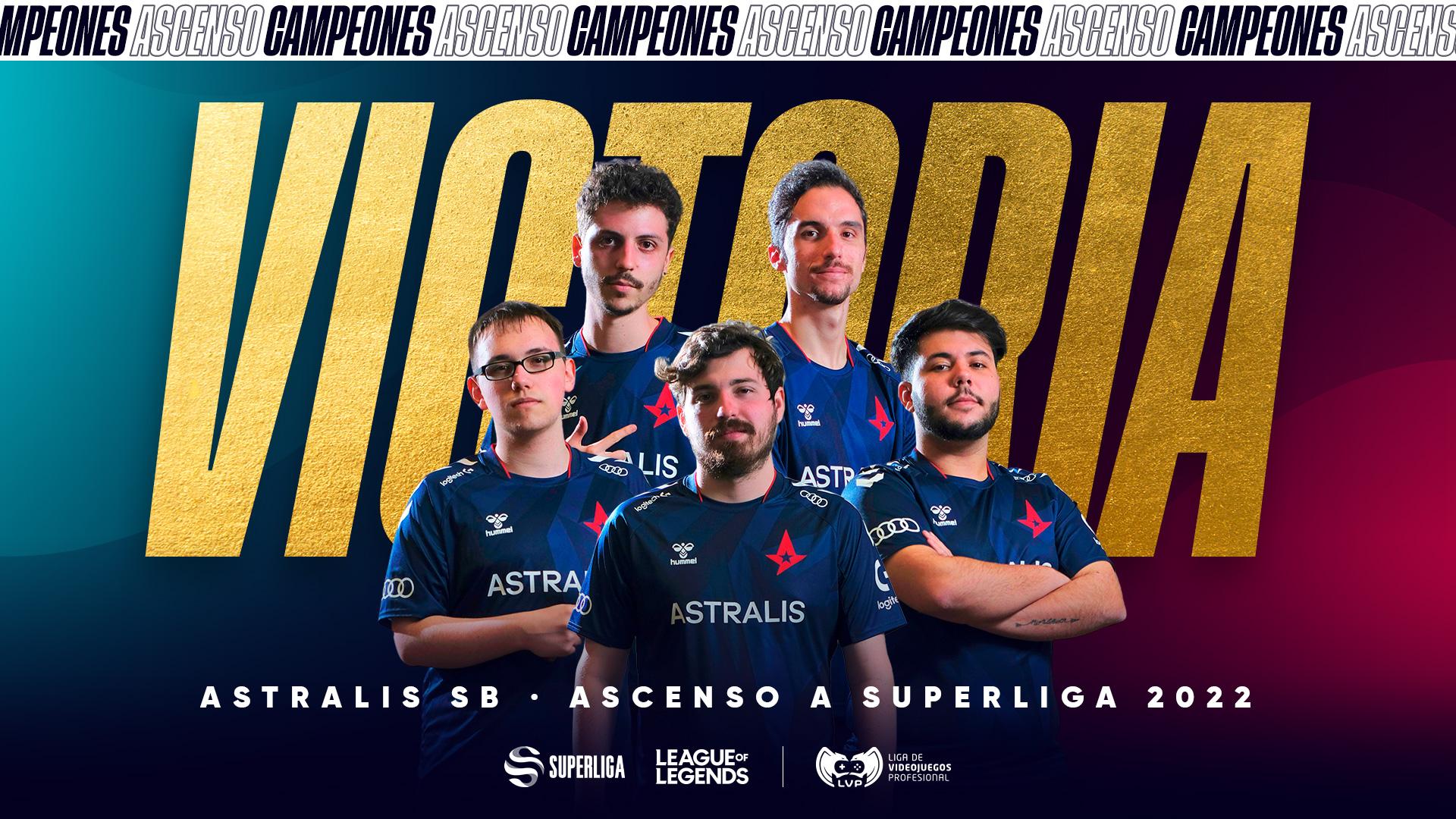 Astralis SB secures spot in Spanish SuperLiga