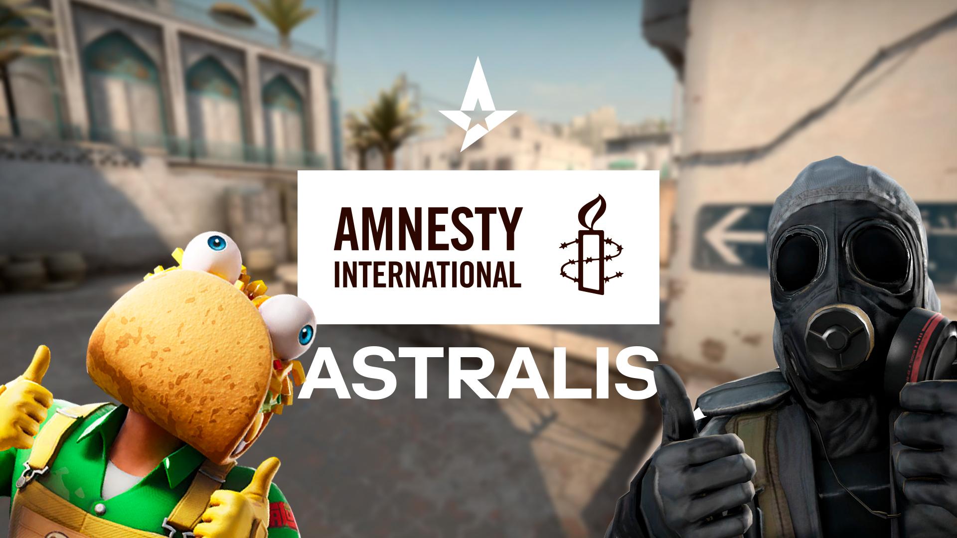 Astralis og Amnesty International Danmark vil skabe en tryg gamingkultur
