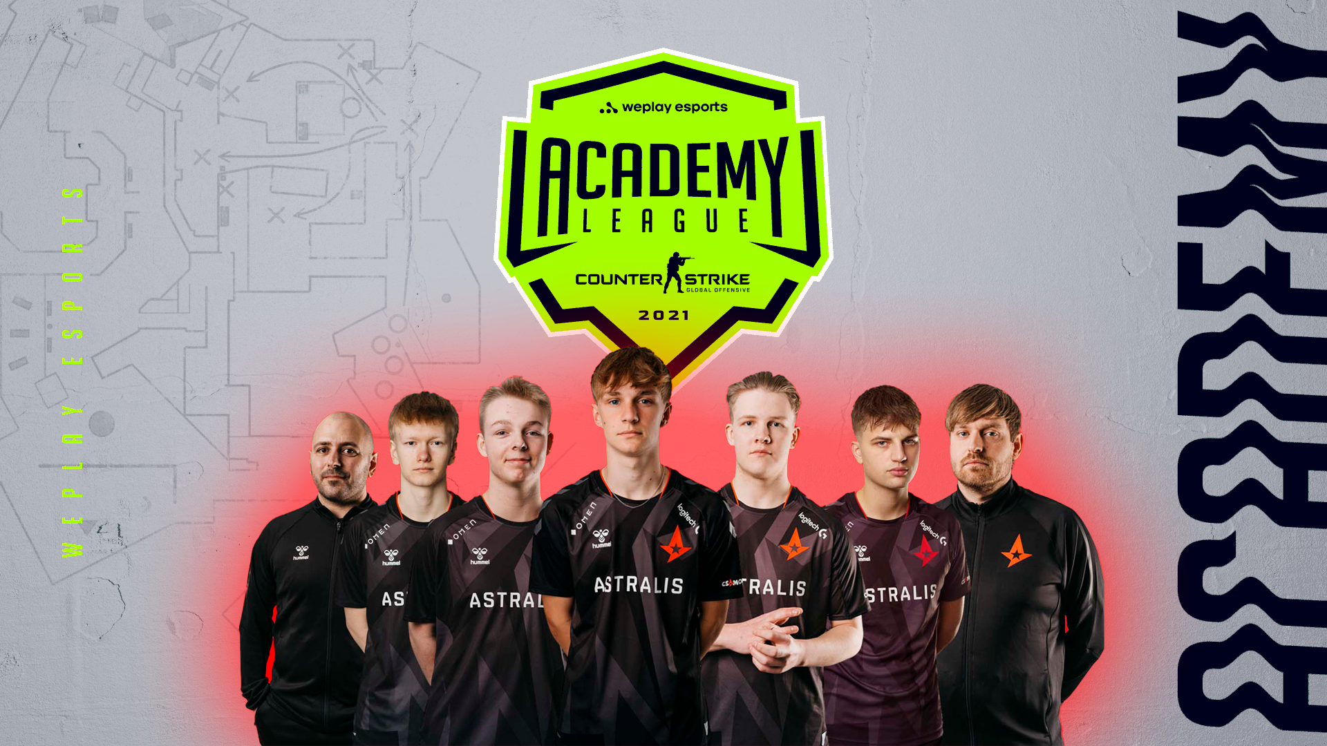 Astralis Talent is ready for WePlay Academy League Season 2