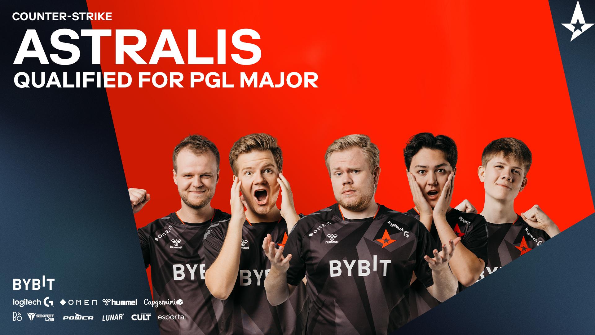 Astralis Qualifies for PGL Major Stockholm 2021