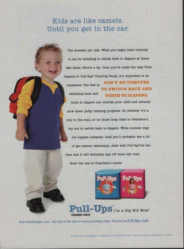pull-ups ad.