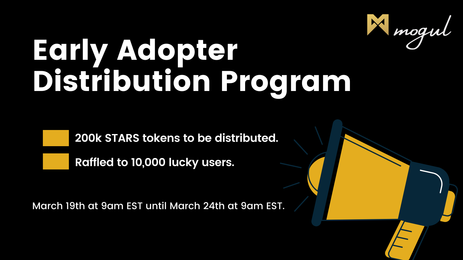 Early Adopter Distribution Program