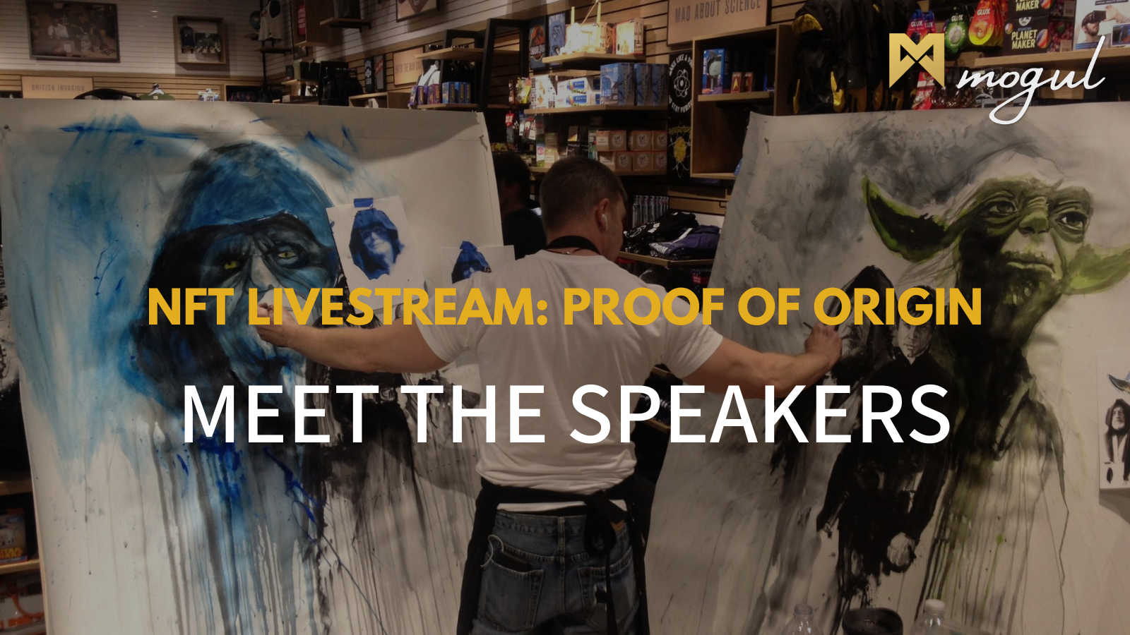 NFT Livestream Proof of Origin - The Speakers!