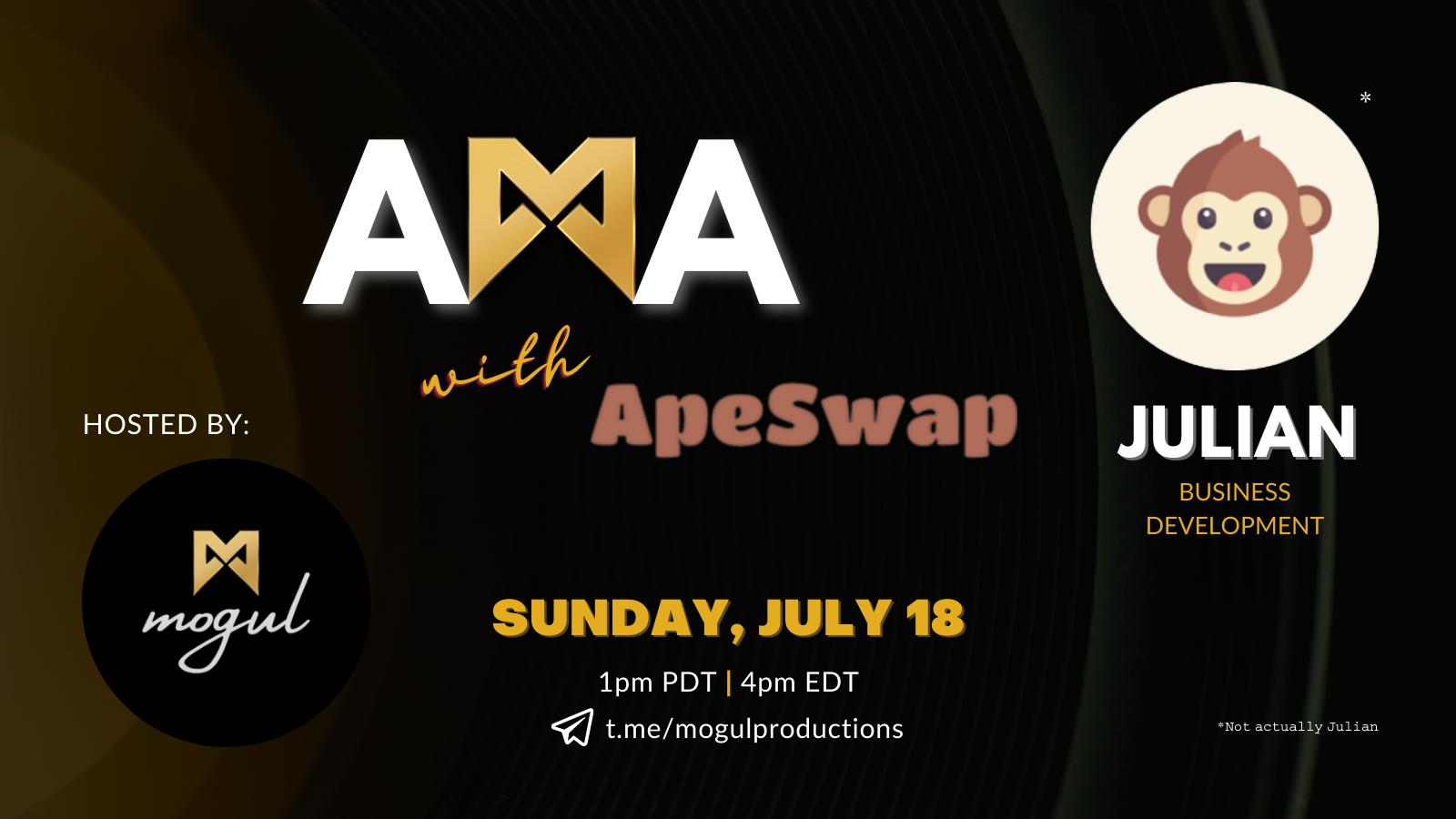 ApeSwap AMA Recap