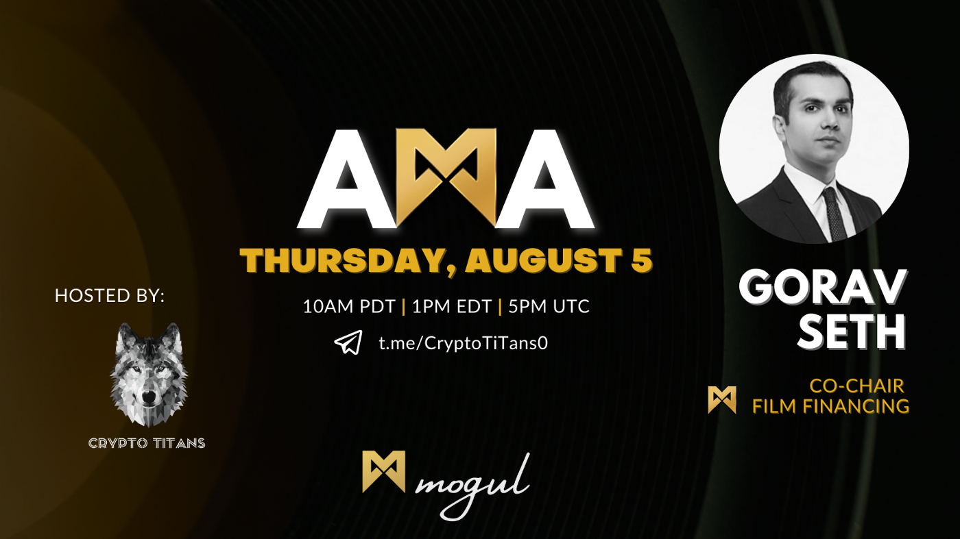 CryptoTitans x Mogul Productions AMA Recap