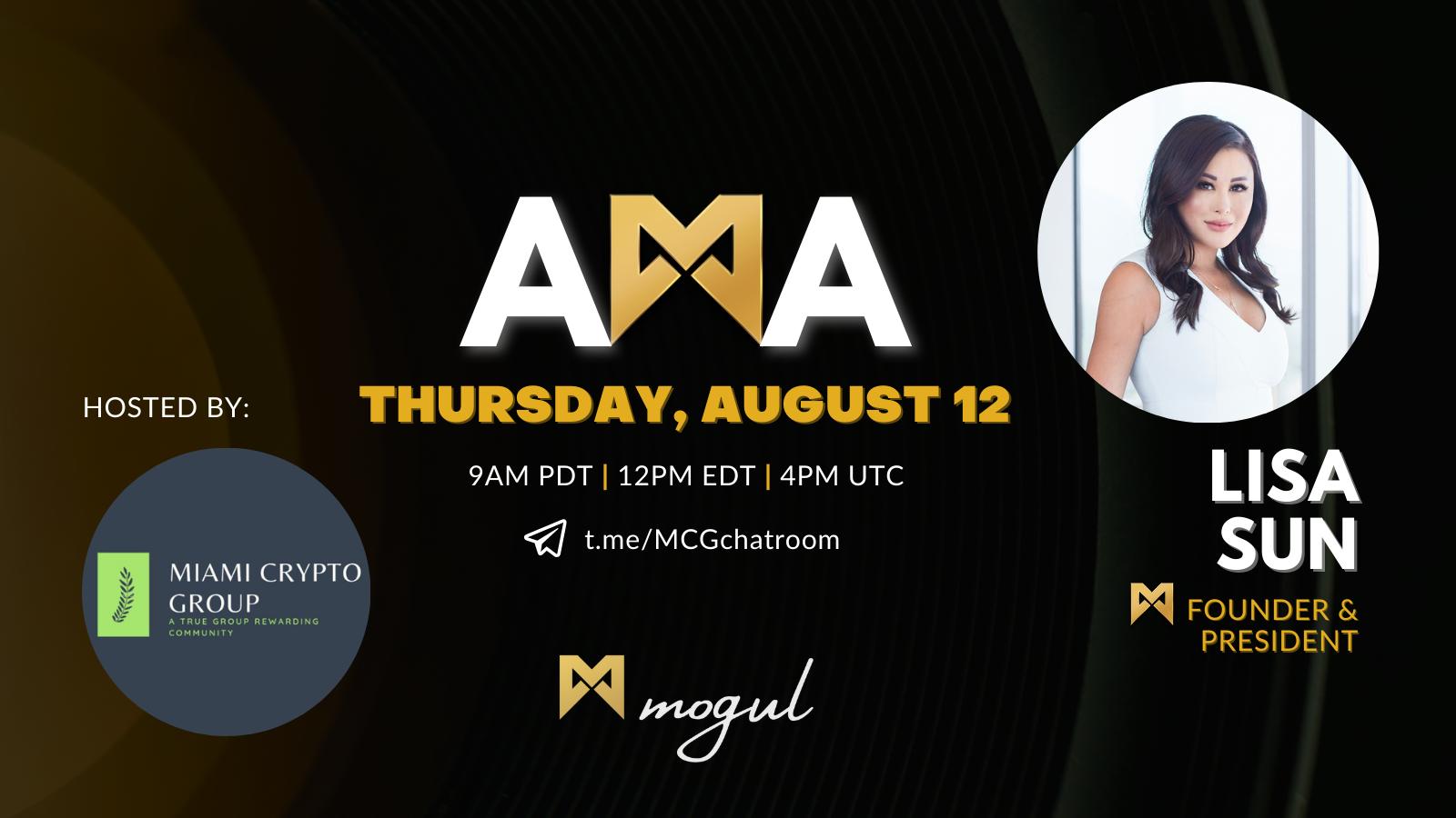 Miami Crypto Group x Mogul Productions AMA Recap