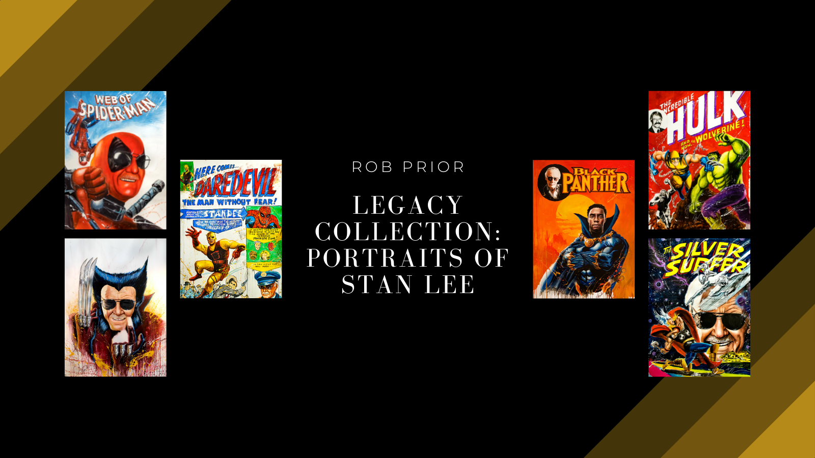 The Legacy Collection: Portraits of Stan Lee by Rob Prior