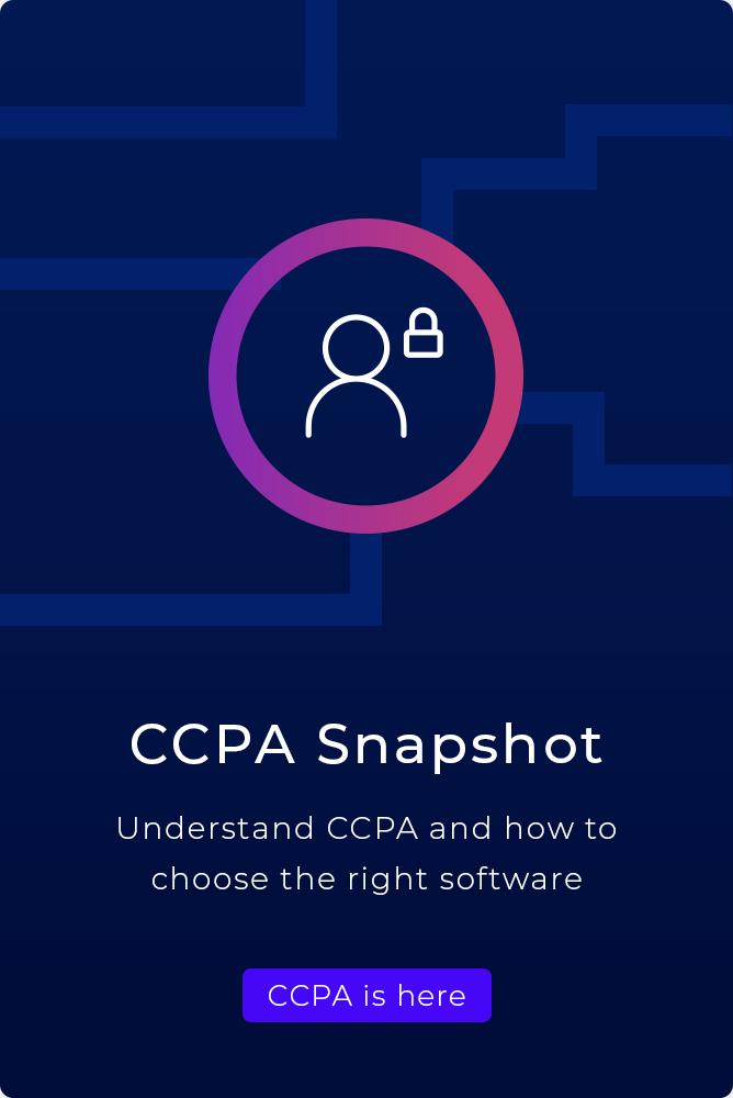 CCPA Snapshot guide