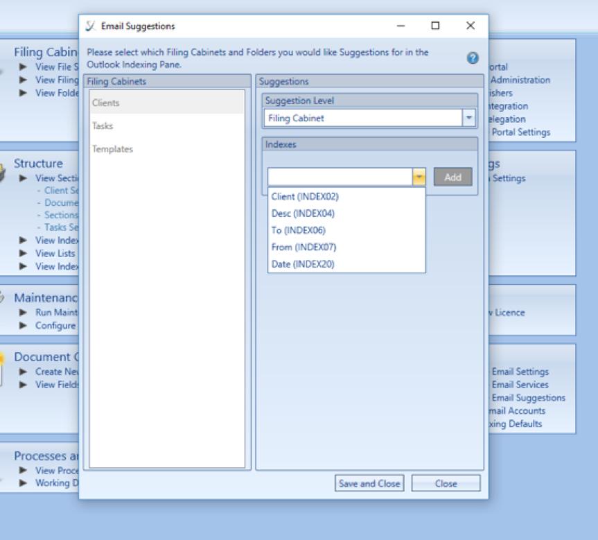 Configure your cabinet options