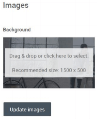 Drag and drop images