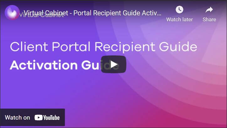 Activation guide - video