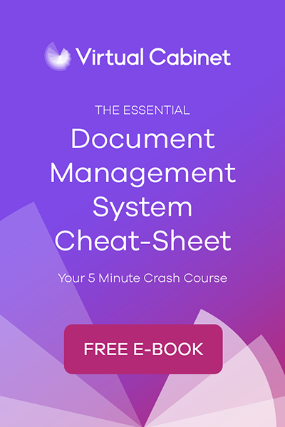 The Essential Document Management System Cheat Sheet