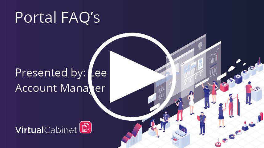Portal FAQs - webinar