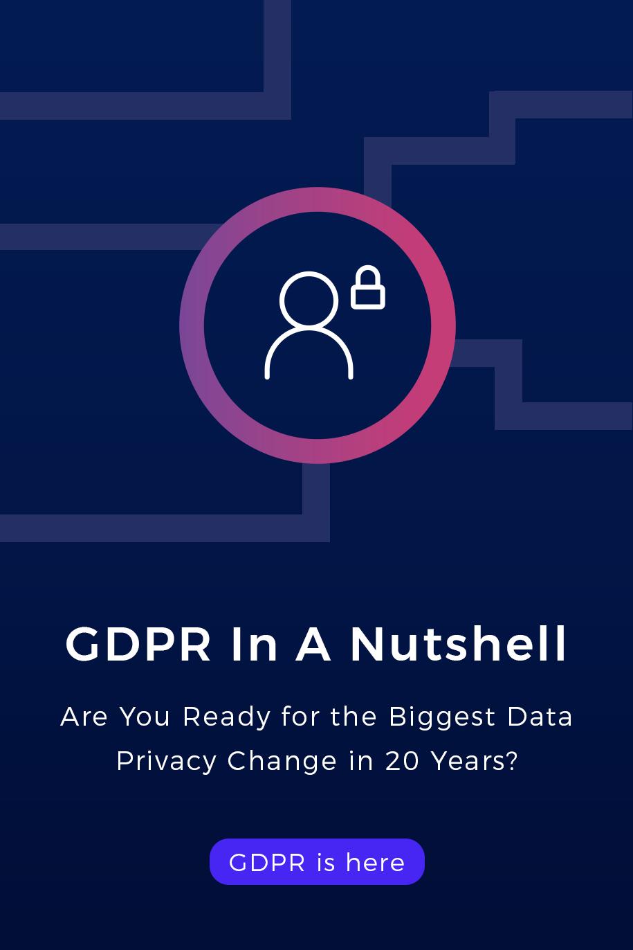 GDPR in a nutshell - ebook cover