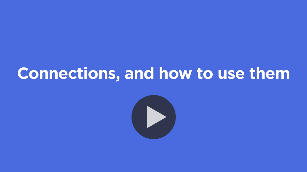 GetBusy connections and how to use them - watch the video