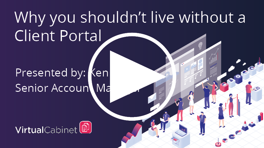 Why you shouldn't live without a client portal - webinar
