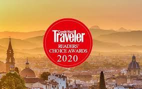 Conde Nast Traveller Reader's Choice Awards 2020