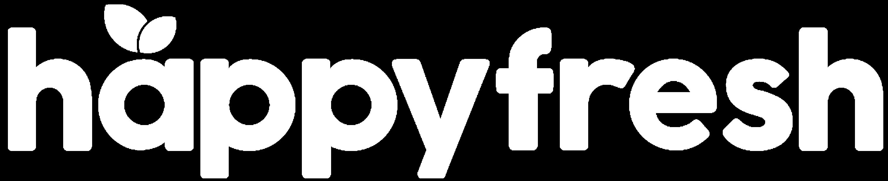 HappyFresh Logo White