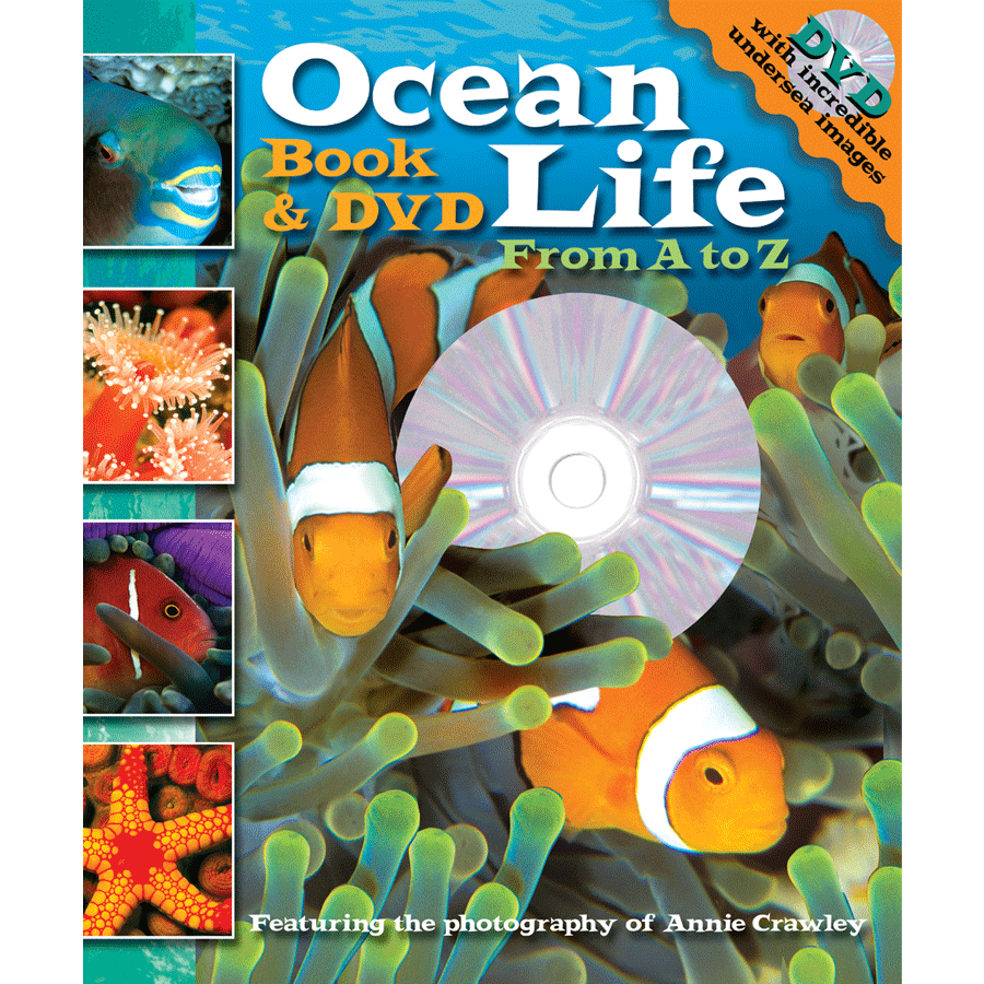 Ocean Life A to Z Book & DVD