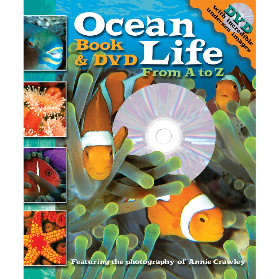 Ocean Life A to Z Book & DVD