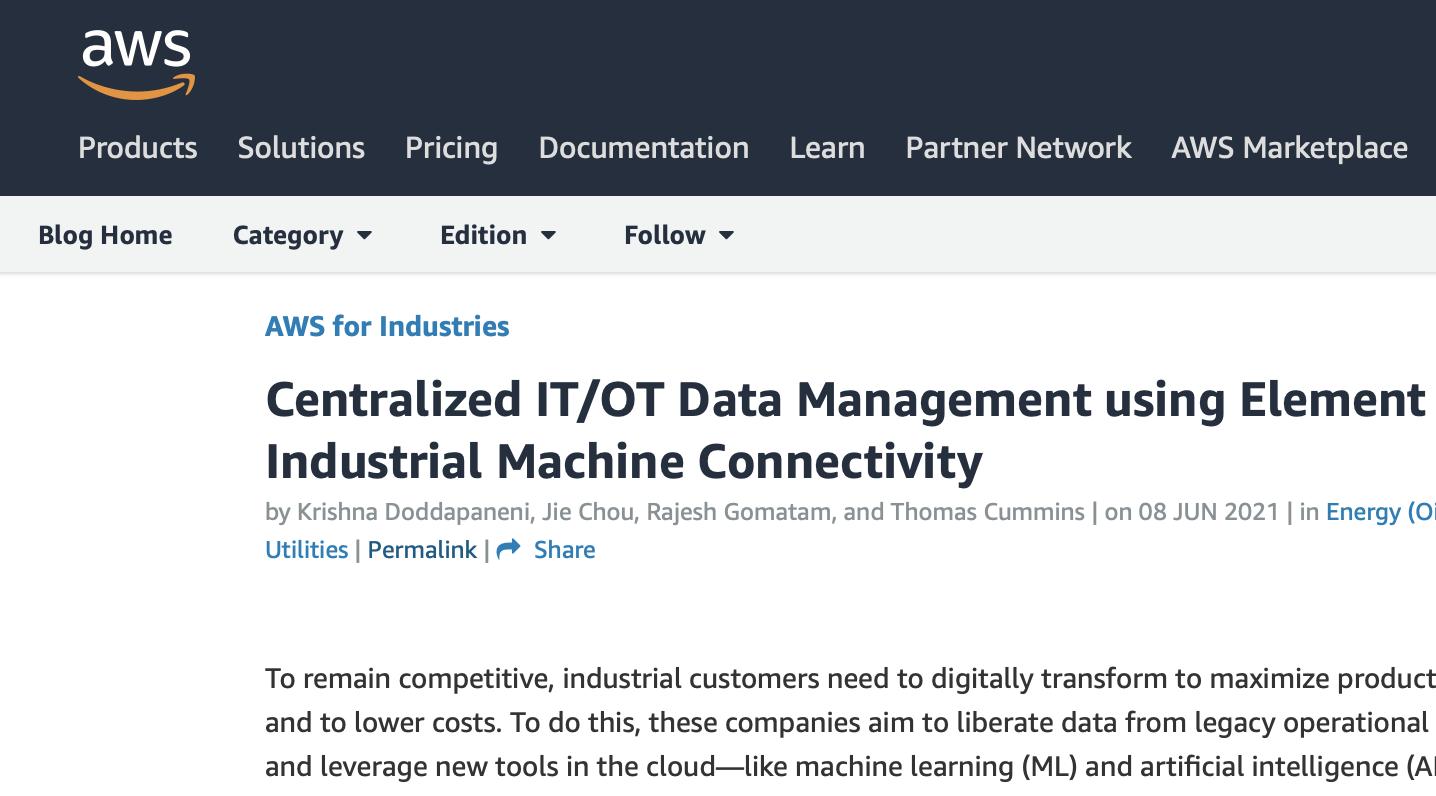element centralized it ot management pdf