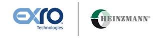 Exro Technologies and Heinzmann GMBH Logos
