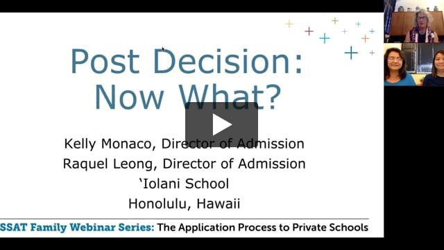 Post Decision: Now What?