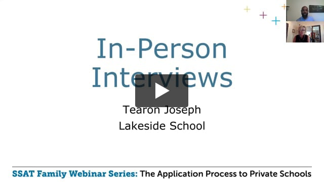 In-Person Interviews