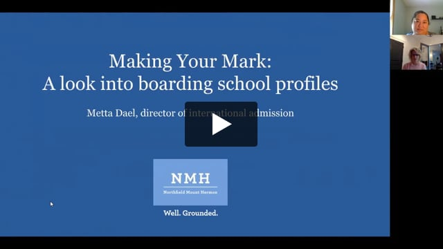 Making Your Mark: A look into Boarding School Profiles