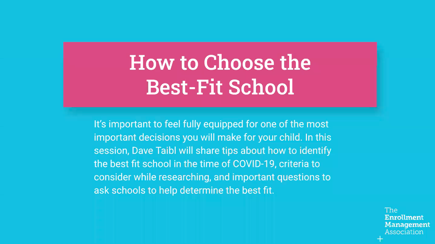 How to Choose the Best-Fit School